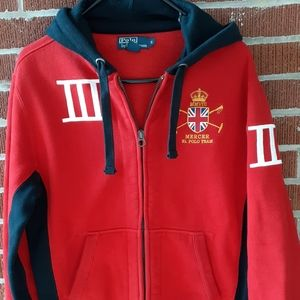 🐎Ralph Lauren Mercer Club small hoodie
